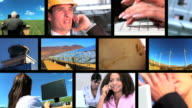 Business & Energy Montage video