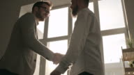 Business Greeting at Office video