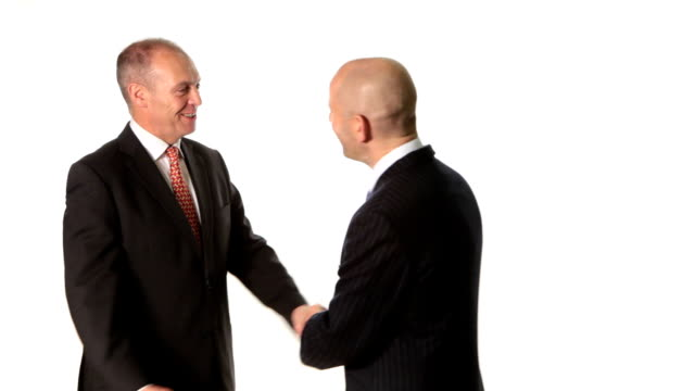 Business greeting video