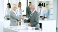 Business Handshake video