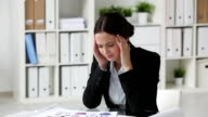 Business headache video