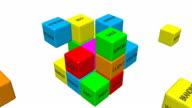 Business jigsaw video
