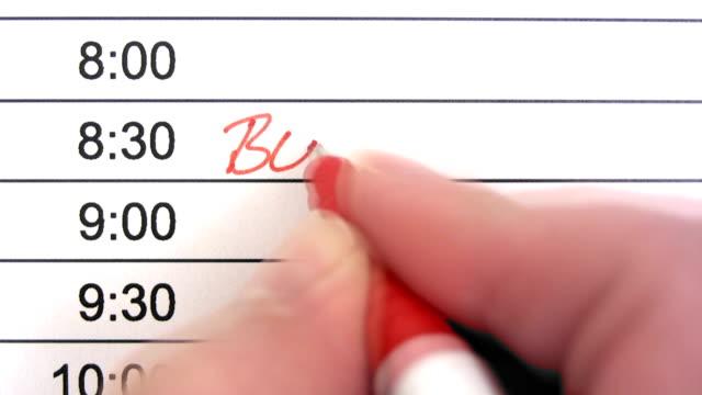 Business Meeting Reminder video