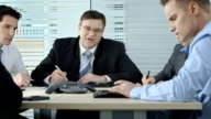HD DOLLY: Business Meeting video