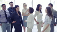 Business Men and Women Meeting video