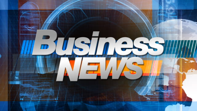 Business News - Broadcast Main Title video