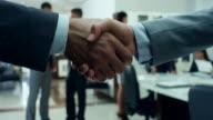 Business People Handshake video