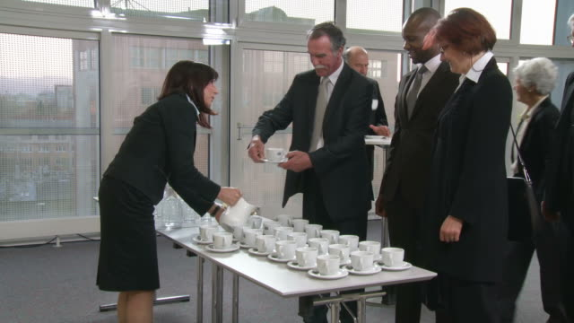 HD: Business People Having Coffee Break video