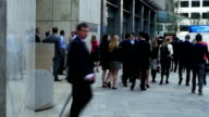Business People In London Fenchurch Street (4K/UHD to HD) video