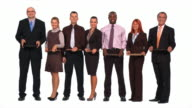 HD: Business People Looking For Work video