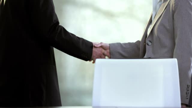 PAN TU MS Business People Shaking Hands video