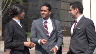 Business People Socializing  Talking video
