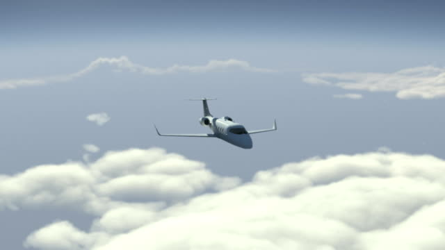 Business plane. video