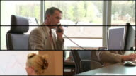 HD LOOP MONTAGE: Business Presentation video