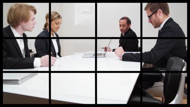 Business Split Screen (shot on RED) video