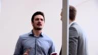 Business talk video