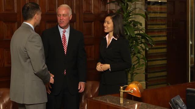 Business Team Handshake - verB video