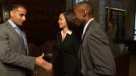 Business Team Handshake - verC video