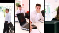 Business Team Montage video