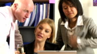 Business team success video