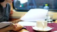 Business travel by sleeper train video