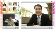 HD MONTAGE: Business Video Conference video