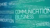 Business Words Seamless Loop video