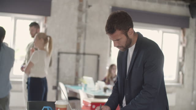 Business-coworking space video