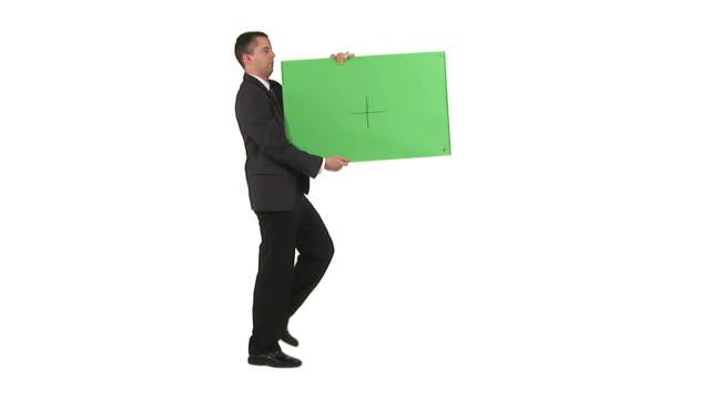 HD: Businessman Advertising video