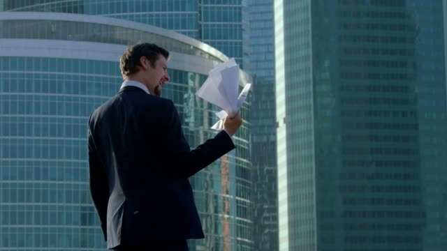 Businessman At The Top video