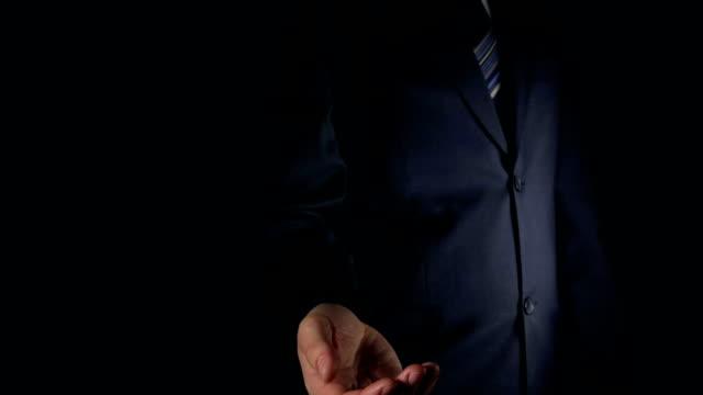 SLOW: Businessman catches a keys video