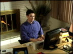 Businessman in Home Office 7 video