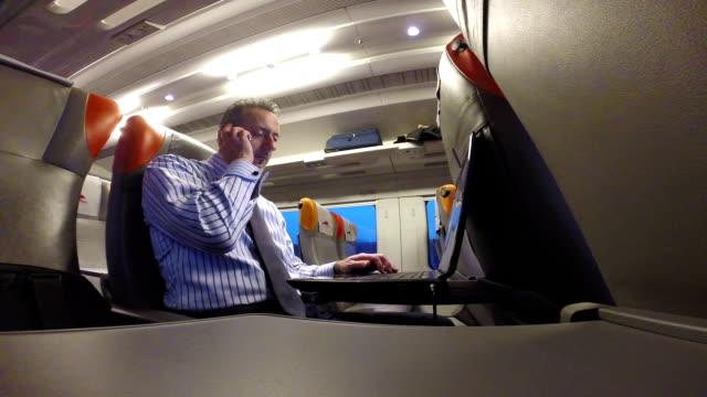 Businessman in Train video