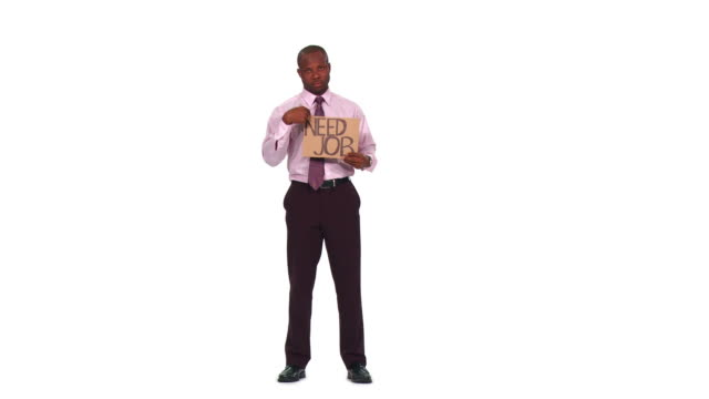 HD: Businessman Needing A Job video