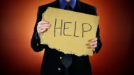 Businessman Needs Help video