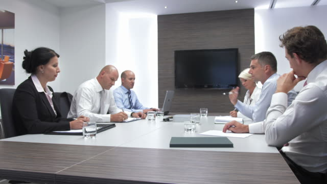 HD: Businessman Negotiating With Strategic Partner video