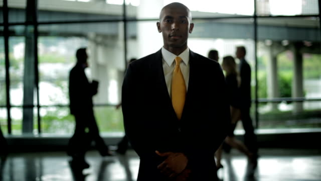 Businessman out front video
