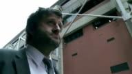 HD: Businessman Rushing To Work video