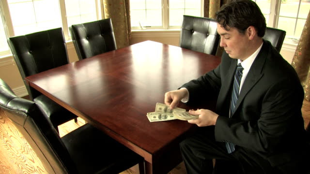 Businessman With Money video