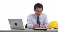 businessman working video