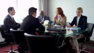 Businessmen Discussing a Future Transaction video