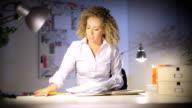 Businesswoman celebration in Hi Definition video