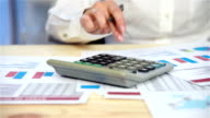 businesswoman Considers Profit video