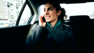 Businesswoman in Car video