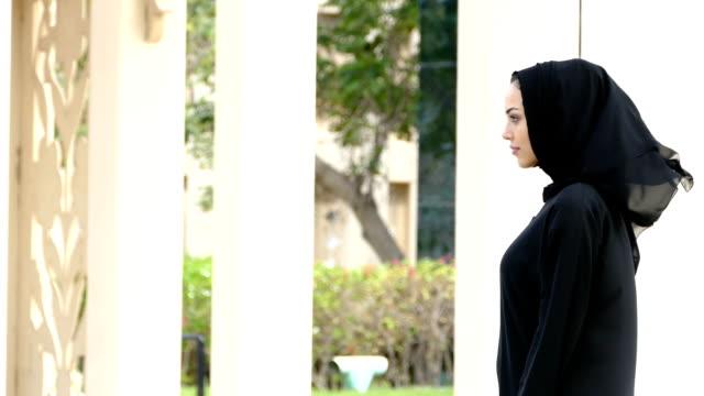 Businesswoman in Dubai - slowmotion video
