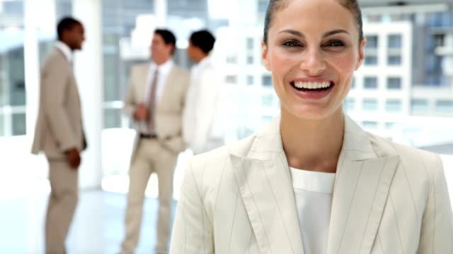 Businesswoman Portrait video