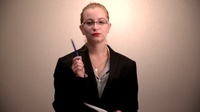Businesswoman video
