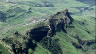 Busingatha And Landscape  - Aerial View - KwaZulu-Natal,  uThukela District Municipality,  Okhahlamba,  South Africa video