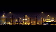Busy Airport at Night video