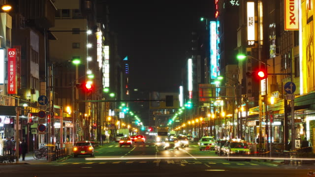 Busy avenue in Asakusa (still) video